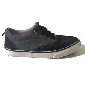 Gymboree Boys Blue And Gray Shoes Size 1